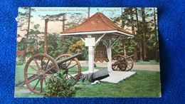 Chinese Bell And Guns, Beacon Hill Park Victoria B.C Canada - Victoria