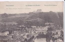Carte 1910 Vue Générale De Chèvremont : Le Village Et La Vesdre - Wanze