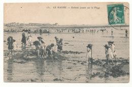 Le Havre - Enfants Jouant Sur La Plage - E.L.D. - Autres