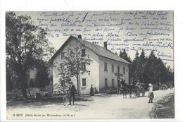 21836 - Hôtel-Asile Du Mollendruz Attelage Et Cycliste - VD Vaud