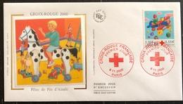 France FDC - Premier Jour - Lot De 1 FDC - Thématique Croix Rouge - 2000 - FDC