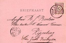 12 JUN 99   Briefkaart Met Firmalogo Van Amsterdam Naar Rijzenburg Zeist-Driebergen - Marcophilie