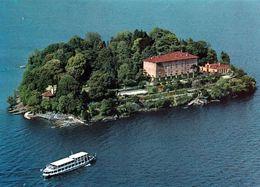 1 AK Italien * Blick Auf Die Isola Madre - Zählt Zu Den Borromäischen Inseln - Größte Insel Im Lago Maggiore - Luftbild - Autres Villes