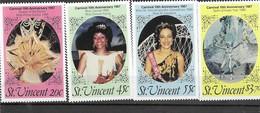 ST. VICENTE Nº913 AL 916 - St.Vincent (1979-...)