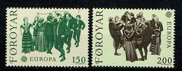Féroé 1981 EUROPA Yv 57/58**,   Mi 63/64** MNH - Féroé (Iles)