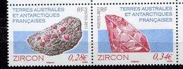 TAAF ** . N° 578/579 -  Minéraux - Neufs