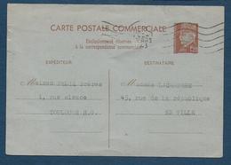 Entier 1,20 Fr Pétain  Correspondance Commerciale - Entiers Postaux