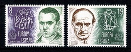 Spanje 1980 EUROPA Yv 2214/2215** MNH - 1931-Aujourd'hui: II. République - ....Juan Carlos I