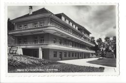 21840 - Vallée De Joux Le Sentier Hôpital De La Vallée + Cachet - VD Vaud
