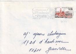 TP N° 2476  Seul Sur Enveloppe De Paris 47 - Marcophilie (Lettres)