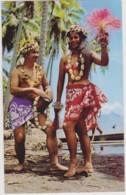 TAHITI - Danceuse Tahitienne - COSTUME, FOLKLORE, CHARME, NU - CPM TBon Etat (voir Scan) - French Polynesia