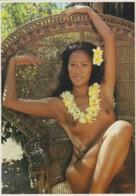 NU  AU SIEGE D'OSIER - CHARME, NU - CPM TBon Etat (voir Scan) - French Polynesia