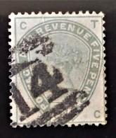 REINE VICTORIA 1883/84 - OBLITERE - YT 82 - BELLE OBLITERATION - 1840-1901 (Victoria)