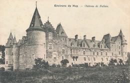 CPA - Belgique - Huy - Château De Fallais - Hoei