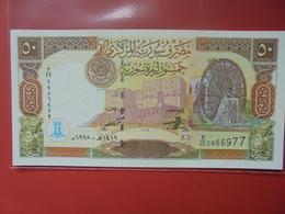 SYRIE 50 POUNDS 1998 PEU CIRCULER/NEUF - Syrien