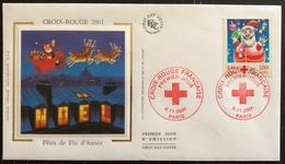 France FDC - Premier Jour - Lot De 1 FDC - Thématique Croix Rouge - 2001 - FDC