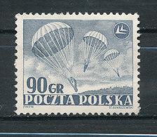 Yv N°677 - Journée De L'aviation - Parachutisme - Gebraucht