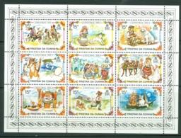 Tristan Da Cunha: 1980   Christmas - Scenes From Nursery Rhymes    MNH Sheetlet - Tristan Da Cunha