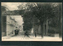 CPA - ROYAN - Avenue De Pontaillac, Animé - Attelages - Royan