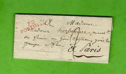 PARIS HISTORIQUE 1828 LETTRE Mme Herbinière Marchande  Fumier Au Gros Caillou Près La Pompe à Feu QUAI D'ORSAY ? V.HIST. - Documents Historiques