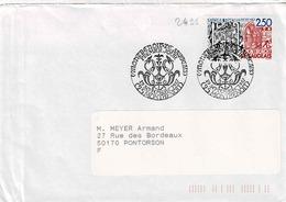 TP N° 2495 Seul  Sur Enveloppe 1er Jour De Montbenoit - 1961-....