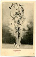 CPA  FEMME Nue  DUVERNOY  Le Printemps (époque 1900) - Femmes