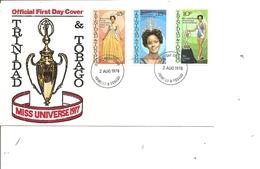 Trinité Et Tobago - Miss Univers Miss Janelle ( FDC De 1978 à Voir) - Trinidad Y Tobago (1962-...)