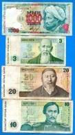 Kazakhstan  7  Billets - Kazakhstán
