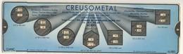 Abaques - Curtec -         Creusometal  (Forges Et Ateliers Du Creusot) - Technical Plans