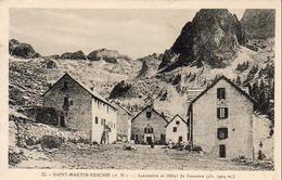 D06  SAINT MARTIN VÉSUBIE  Sanctuaire Et Hôtel De Fenestre - Saint-Martin-Vésubie
