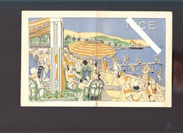 Nice (06) Fascicule Circa1925, 8 Pages Eclaireur De Nice / Lettre Imprimeries Nelles Mathieu - France