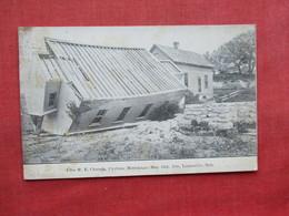 Free M.E. Church  Cyclone Damage May 12  1908 Louisville  Nebraska >   Ref 3313 - Etats-Unis