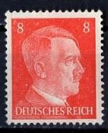 Allemagne III Reich - Germany - Deutschland 1941-43 Y&T N°710 - Michel N°786 *** - 8p Hitler - Allemagne