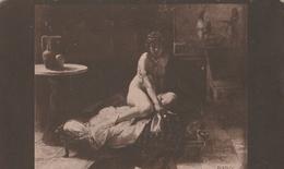 Cartolina  - Postcard / Non Viaggiata - Not  Sent. /  La Moglie Di Putifar - Morelli. - Malerei & Gemälde