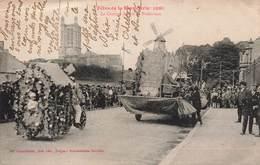 10 Troyes Fetes De La Bonneterie 1926 Le Cortege Devant La Préfecture Cpa Carte Animée - Troyes