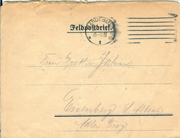LETTRE FELDPOSTBRIEF MAGDEBURG 1917 - 1914-18