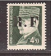 LIBERATION RF PONS 4f50 Pétain Gravé Neuf ** - Liberation