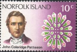 1971 NORFOLK ISLAND  Death Centenary Of Bishop Patteson , 10c  Stamp A - Ile Norfolk