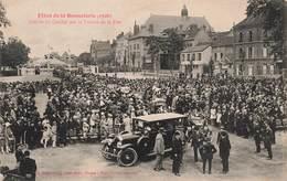 10 Troyes Fetes De La Bonneterie 1926 Arrivée Du Cortège Sur Le Terrain De La Fête Cpa Carte Animée - Troyes