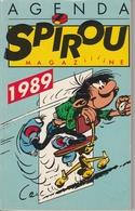 792.   SPIROU  AGENDA 1989 - Agendas & Calendriers
