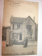 C.P.A.- Villiers Sous Ou Sur Grez (77) - Pension De Famille - Villa Des Bois - Maison G.Moureaux - 1910 - SUP (BH2) - Other Municipalities