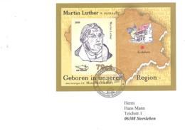 Sangerhauser Kurier  79 Ct  Martin Luther  Block - BRD
