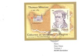 Sangerhauser Kurier  79 Ct  Thomas Muntzer Block - [7] République Fédérale