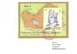 Sangerhauser Kurier  37 Ct  Otto I  Block - [7] République Fédérale