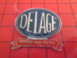210c Pins Pin's  / Rare Et De Belle Qualité / THEME AUTOMOBILES : DELAGE L'irréparable Outrage ? - Pin's