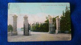 Point Pleasant Park Gates Halifax Canada - Halifax