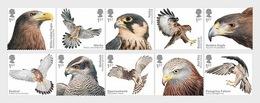 Groot-Brittannië / Great Britain - Postfris/MNH - Complete Set Roofvogels 2019 - Ongebruikt