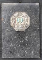 Plaque, Medal SK Zeljeznicar Zagreb 1914 - 1929 Croatia - Deportes