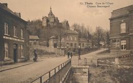 CPA - Belgique - Thuin - Gare De L'Ouest - Château Beauregard - Thuin