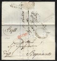 DA OSIMO A BAGNACAVALLO - 14.11.1840. - Italia